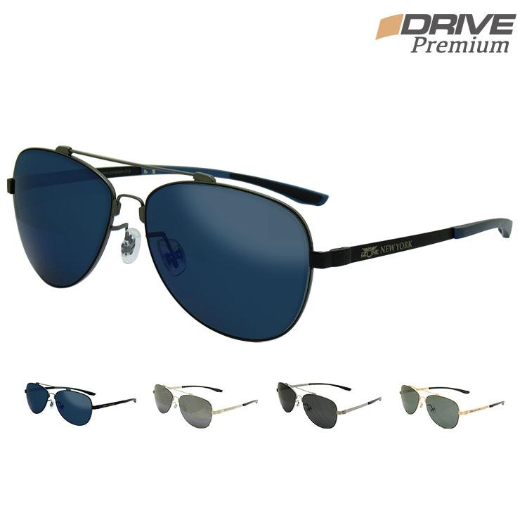 超軽量 高性能 高品質 偏光サングラス メンズ 野球 ゴルフ などのスポーツや運転に UV400 UV 紫外線カット 大きいサイズ メタルフレーム ティアドロップ アイゾーン ブランド iDrivePremium-P126
