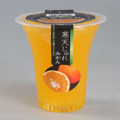 おトク 9月末までの限定販売 期間限定 寒天じゅれみかん130g果汁リッチ 優先配送 個食用