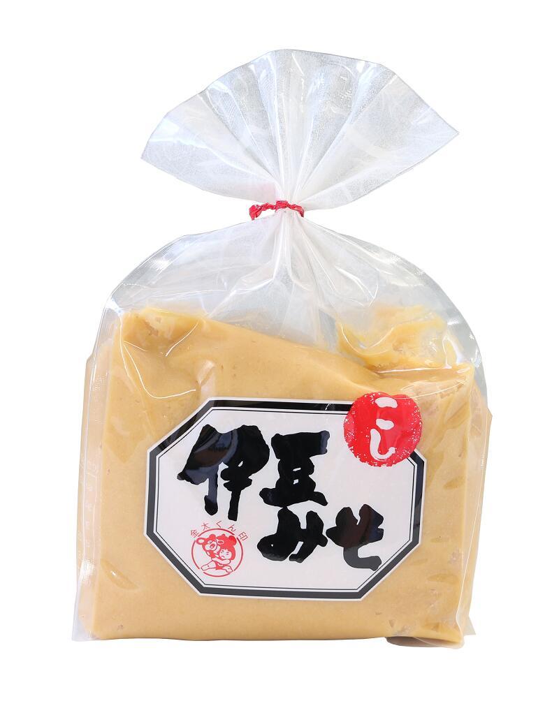 富士箱根の湧水使用。糀の粒が残らない白みそ 【伊豆みそ白】生詰 こしみそ 750g