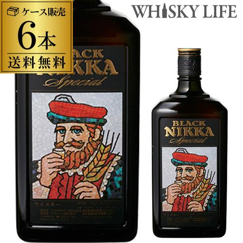 まとめ買い で送料無料! ニッカ ブラックニッカ スペシャル ダブルサイズ 1440ml×6本 ケース販売 [送料無料][ウイスキー][ウィスキー]日本 国産 whisky [長S]