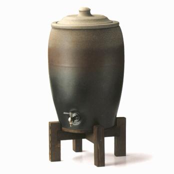 【送料無料♪】セラミック浄水器窯肌窯変 浄水器8L