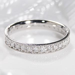 ファッション・ジュエリー・アクセサリー・レディース・指輪・リング・プラチナ・ダイヤモンド・0.5ct・フルエタニティリング・ダイア・エタニティ・SIクラス・送料無料・刻印無料・品質保証書・代引手数料無料・プレゼント・ミル打ち・ 重ねづけ