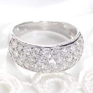 ファッション・ジュエリー・アクセサリー・レディース・指輪・リング・プラチナ・Pt900・ダイヤモンド・ダイアモンド・2カラット・パヴェ・刻印無料・代引手数料無料・送料無料・品質保証書・ホワイトデー・ギフト・プレゼント・4月誕生石・SI・Gカラー