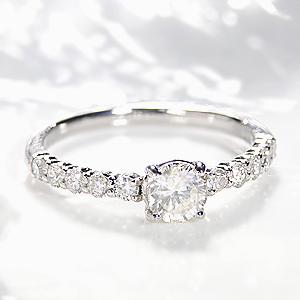 ファッション ジュエリー アクセサリー レディース 指輪 リング プラチナ ダイヤモンド リング ダイヤ リング ダイア SI 大粒 一粒 ひと粒 豪華 送料無料 刻印無料 品質保証書 代引手数料無料 4月誕生石 プレゼント