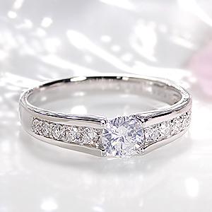 ファッション ジュエリー アクセサリー レディース 指輪 リング プラチナ ダイヤモンド リング ダイヤ リング ダイア SI I 大粒 一粒 ひと粒 豪華 送料無料 刻印無料 品質保証書 代引手数料無料 4月誕生石 プレゼント