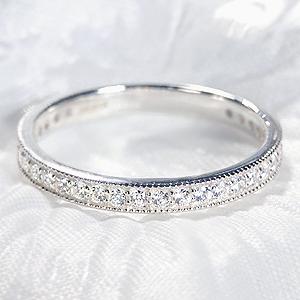 【SIクラス】Pt900【0.30ctUP】ダイヤモンド エタニティリングリング ダイヤモンド ダイヤ エタニティ 0.3ct 0.3カラット ダイアモンド ダイアリング SI 4月誕生石 ミルグレイン 送料無料 品質保証書 代引手数料無料