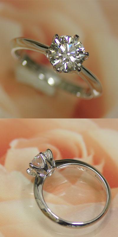 j-kimura | Rakuten Global Market: Platinum diamond engagement ring 1 ...