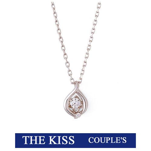 あす楽/即納 ネックレス THE KISS ザ キッス シルバー レディース製 ダイヤモンド キュービックジルコニア シルバーネックレス SPD5001DM 記念日 ホワイトデー ブランド 20代30代 キュート おしゃれ かわいい 可愛い