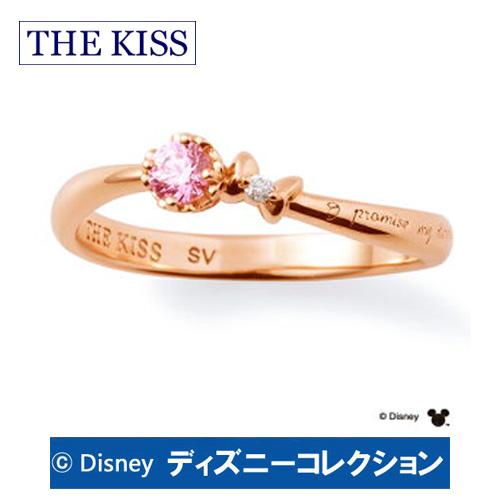 """送料無料 【ディズニーコレクション】 ミッキー&ミニー THE KISS ザ キッス シルバー ペアリング ダイヤモンド 【レディース1本販売】 SV925製 """"I promise my eternity""""(約束しよう、永遠を ) ディズニーペアリング DI-SR1804DM 記念日 ホワイトデー ホワイトデー"""