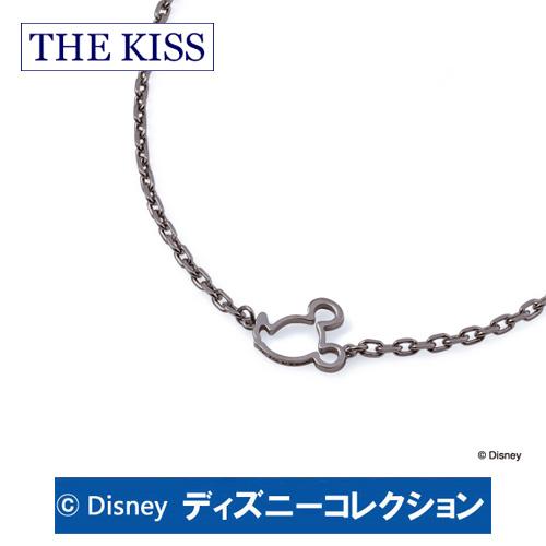 ブレスレット ディズニー ミッキー THE KISS ザ キッス シルバー メンズ おそろい DI-SBR701 ブランド ディズニーコレクション 記念日 ギフト プレゼント 20代 30代 ホワイトデー