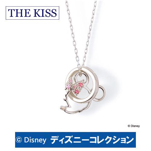 ネックレス ディズニー ミニー THE KISS シルバー ダイヤモンド レディース おそろい DI-SN1213DM ブランド ディズニーコレクション 記念日 ギフト プレゼント 20代 30代 ホワイトデー