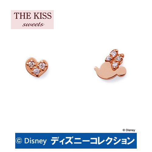 ピアス ディズニー ミニー ハート THE KISS ザ キッス sweets ピンクゴールド レディース ハート ダイヤモンド DI-PPE2700DM ブランド ディズニーコレクション 記念日 ギフト プレゼント 20代 30代 ホワイトデー