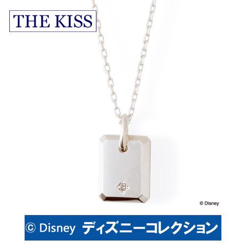 ネックレス ディズニー ミッキー ミニー THE KISS ザ キッス シルバー ダイヤモンド レディース DI-SN1830DM ブランド ディズニーコレクション 記念日 ギフト プレゼント 20代 30代 ホワイトデー