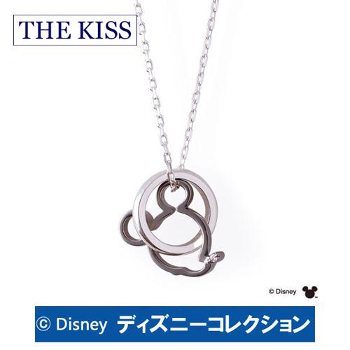 ネックレス ディズニー ミッキー ミニー THE KISS シルバー ダイヤモンド メンズ おそろい DI-SN1203DM ブランド ディズニーコレクション 記念日 ギフト プレゼント 20代 30代 ホワイトデー