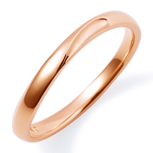 THE KISS ザ キッス sweets 【レディース・1本販売】 ピンクゴールド ペアリング 筆記体日本語刻印可能 K-R1802PG 結婚指輪 マリッジリング 記念日 ホワイトデー ホワイトデー 安い