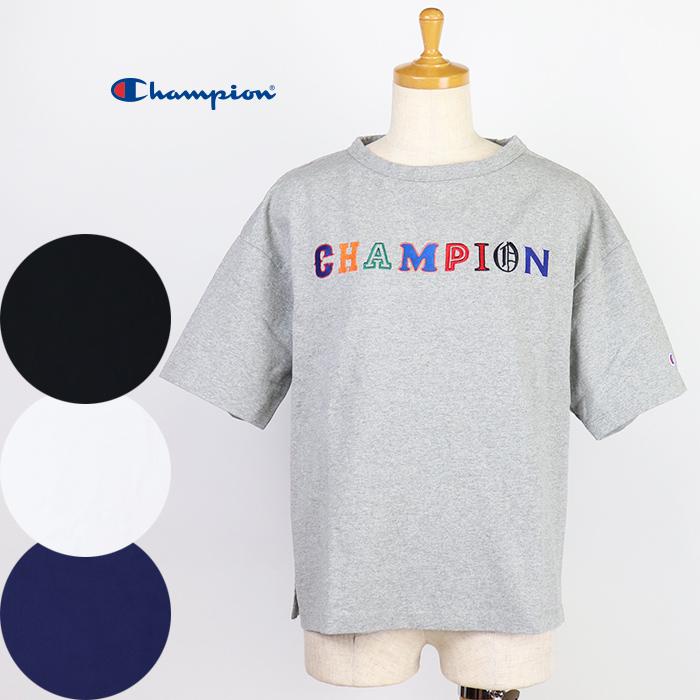 30%OFF Champion Tシャツ コットン クルーネック レディース CW-Q302 ウィメンズ 訳あり 絶品 チャンピオン