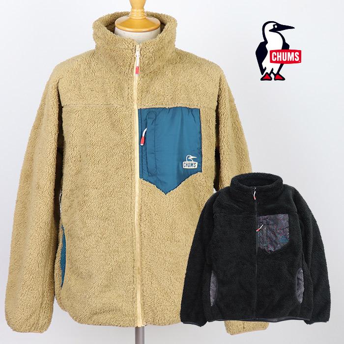 【20%OFF】CHUMS/チャムス メンズ Bonding Fleece Jacket/ ボンディングフリースジャケット CH04-1181