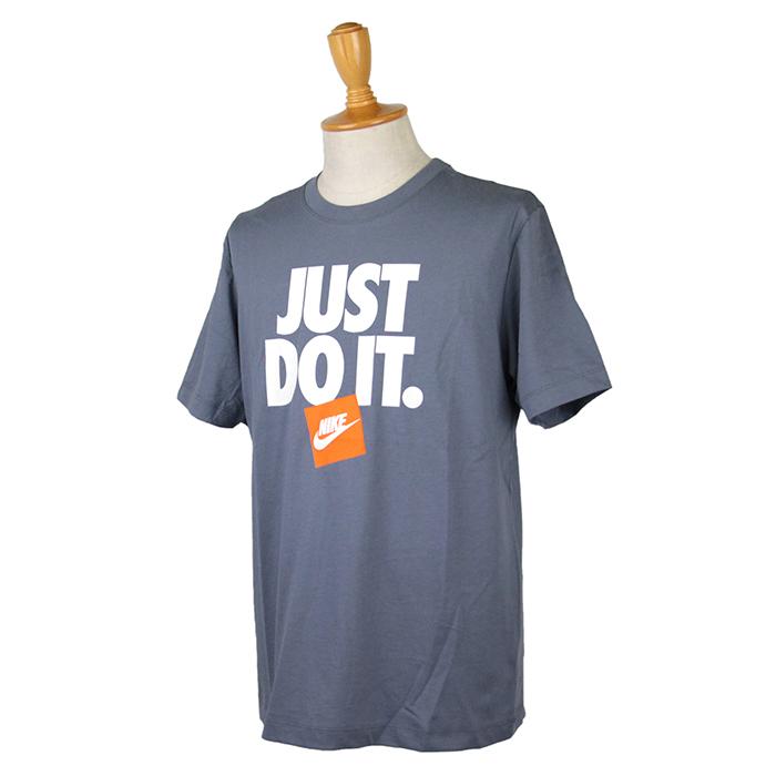 20%OFF NIKEの有名なスローガンをプリント NIKE ナイキ お得セット メンズ 最新 JUST AR5003 DO ブルーグレー Tシャツ S IT