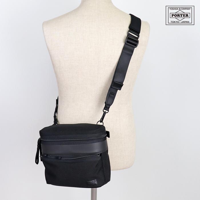 吉田カバン/PORTER PORTER METHOD SHOULDER BAG ポーターメソッド ショルダーバッグ A4対応 ブラック 752-07579