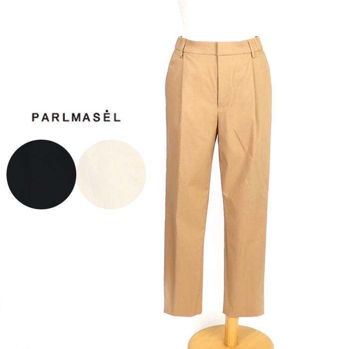 PARLMASEL/パールマシェール <レディース> クロップド丈ストレッチイージーパンツ  L-9306