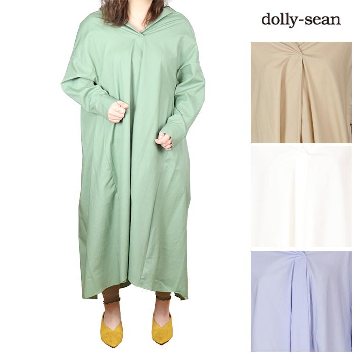 【30%OFF】dolly-sean/ドリーシーン <レディース> シャツワンピース M8961