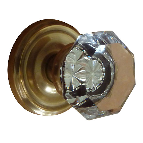 エムテック ドアノブ オールドタウンクリア レギュラー フレンチアンティーク 空錠/8100OT