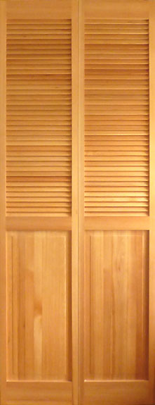 【ハーフルーバー木製クローゼットドア】オリジナル木製クローゼットドア1424 758×2015×34サイズ