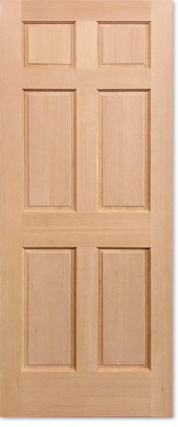 【輸入木製ドア】シンプソン ヘムロック室内ドア 66 W610