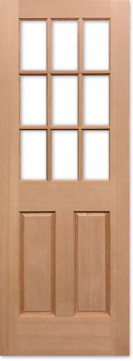 【輸入木製ドア】シンプソン ヘムロック室内ドア 944 W813