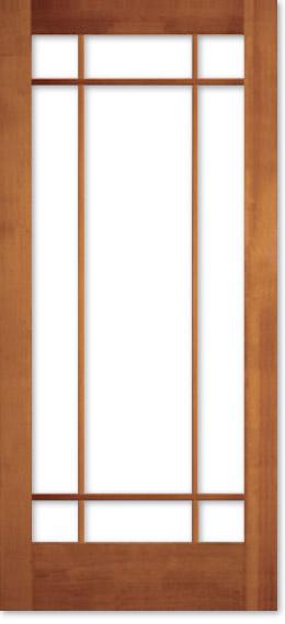 【輸入木製ドア】オリジナル ヘムロック室内ドア 1309 W813