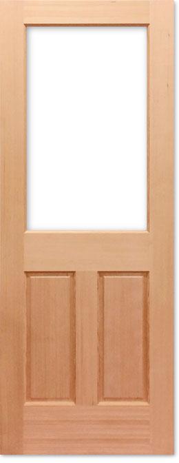 【9種のガラスから選べるアートガラスドア】シンプソン 木製室内ドア144AG W813
