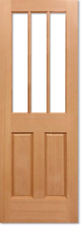 【9種のガラスから選べるアートガラスドア】シンプソン 木製室内ドア344AG W813