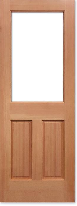 【輸入木製ドア】シンプソン 木製外部ドア 144-44 W813