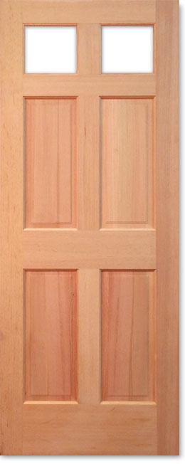 【輸入木製ドア】シンプソン 木製外部ドア 2132 W813