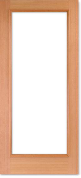 【輸入木製ドア】シンプソン 木製外部ドア 1501-44 W813