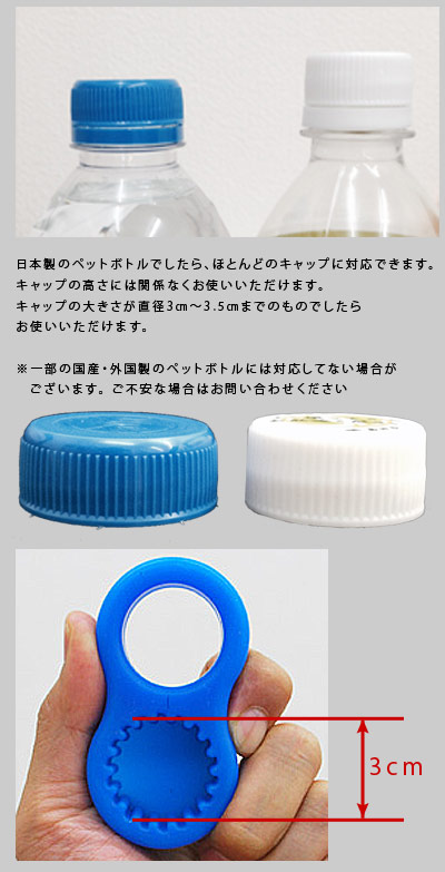 "Of the pet bottle opener and ""grasp it comfortable tray"" age make an outstanding performance by life of the elderly one including the stopper when the cover of the grip training plastic bottle open, and a plastic bottle hook has"