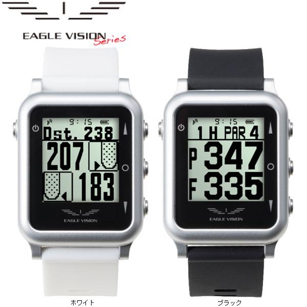 ♪【18年継続モデル】 朝日ゴルフ イーグルビジョン ウォッチ4 GPS小型距離計測器 (腕時計タイプ)EAGLE VISION WATCH4 (防水機能あり) EV-717