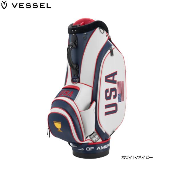 ♪【20年モデル】ベゼル メンズ 19 プレジデンツカップ スタッフ USA キャディバッグ (Men's) VESSEL Presidents Cup Staff USA