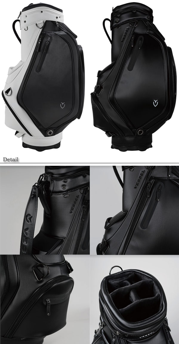 Bezel men Prodigy staff bag caddie bag (Men's) VESSEL Prodigy Staff Bag