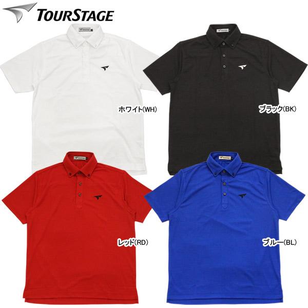 ブリヂストンゴルフ JGM03A 2018SS ツアーB TOUR B メンズ 半袖台付ポロシャツ ゴルフウェア BRIDGESTONE
