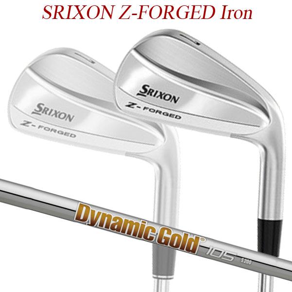 【特注】【19年モデル】 ダンロップ スリクソン Z フォージド アイアン6本セット(#5~9,PW) [ダイナミックゴールド105]スチールシャフト SRIXON Dynamic Gold
