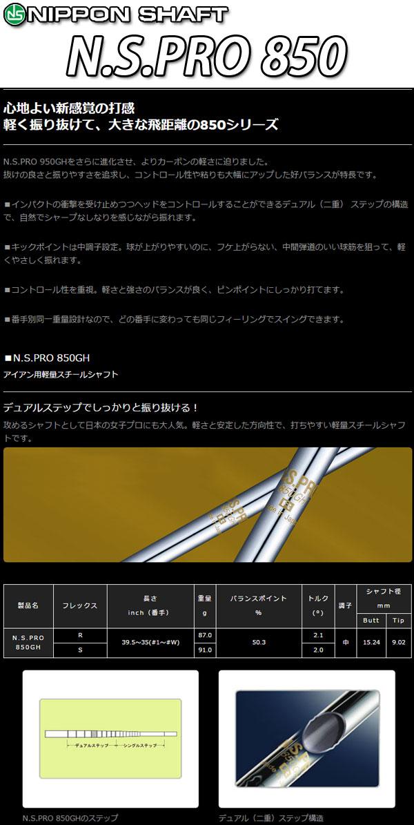 ♪【特注】 ピン i210 アイアン 6本セット(#5~9,PW)  [N.S.プロ 850GH] スチールシャフト PING i 210 IRON N.S.PRO