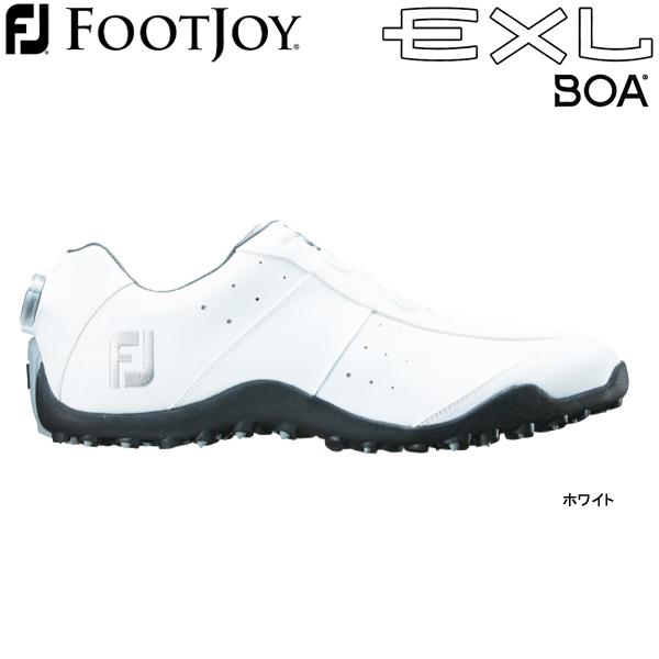 【保証書付】 【最大1,200円OFFクーポン配布中】【19年継続モデル Spikeless】フットジョイ ゴルフシューズ EXL EXL スパイクレス ゴルフシューズ ボア (Men's) 45180 (ホワイト) 横幅(ウィズ)/W FOOTJOY EXL Spikeless Boa, パティスリードシェフフジウ:fbe8f8a9 --- canoncity.azurewebsites.net