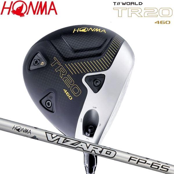 【20年モデル】本間ゴルフ ツアーワールド TR20-460 ドライバー [ヴィザード FP] オリジナルカーボンシャフト TOUR WORLD VIZARD T//WORLD