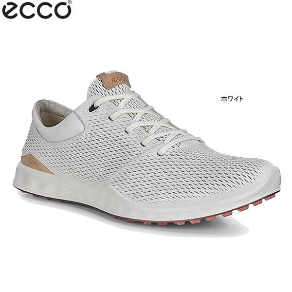 ♪【20年SSモデル】エコー メンズ スパイクレス ゴルフシューズ S-Lite 151904-01007 (ホワイト) (Men's) ecco