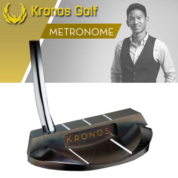 【18年継続モデル】クロノスゴルフ メトロノーム パター Knoros Golf METRONOME