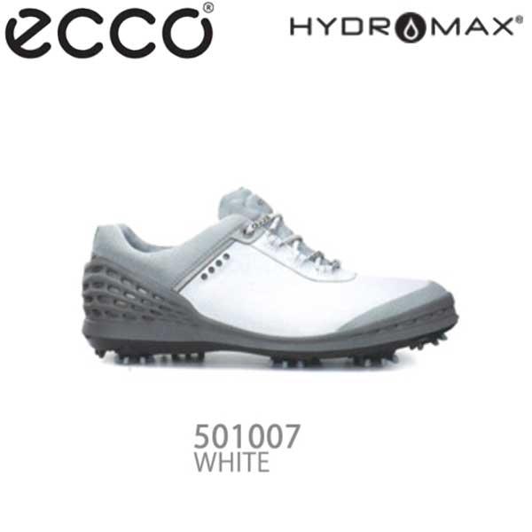 【16年モデル】 エコー メンズ ゴルフシューズ CAGE 132504-01007 (WHITE) (Men's) ecco