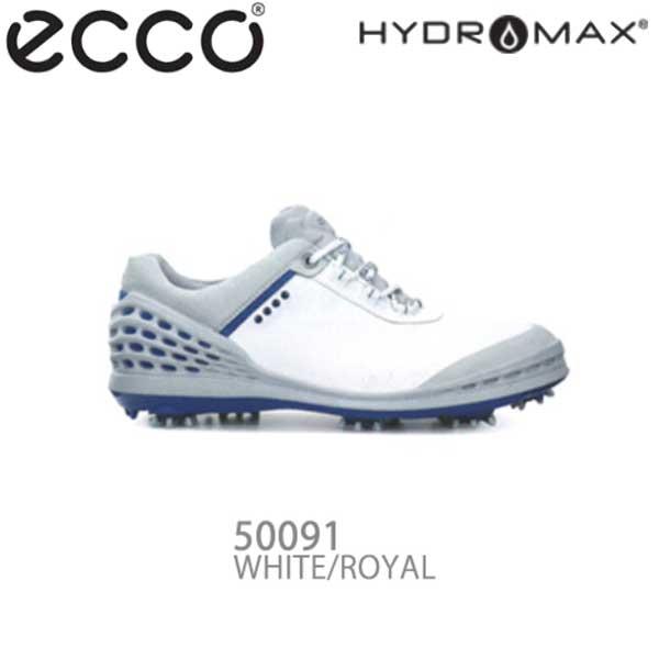 【16年モデル】 エコー メンズ ゴルフシューズ CAGE 132504-50091 (WHITE/ROYAL) (Men's) ecco