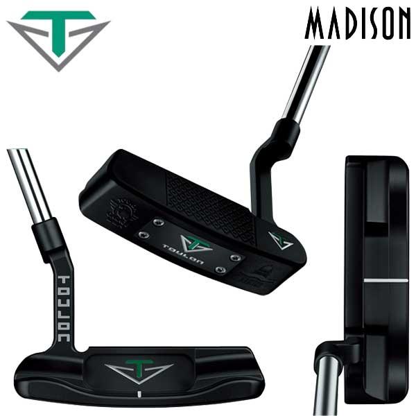 【数量限定】 【16年モデル】 ツーロン・デザイン マディソン パター ピン型 TOULON DESIGN MADISON