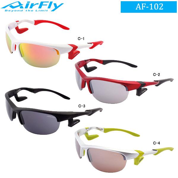 【激安セール】 ♪エアフライ ノーズパッドレス スポーツサングラス AirFly (男女兼用) AF-102♪エアフライ AirFly AF-102, 現場屋さん:16041639 --- canoncity.azurewebsites.net